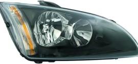 Фара правая (черная окантовка) Ford Focus II (2004-2010)